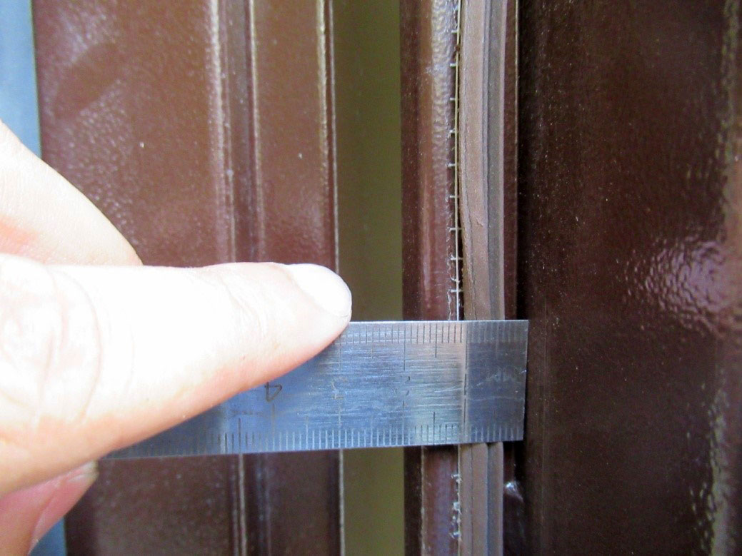 Заключение экспертизы по входной металлической двери и причинам возникновения дефектов