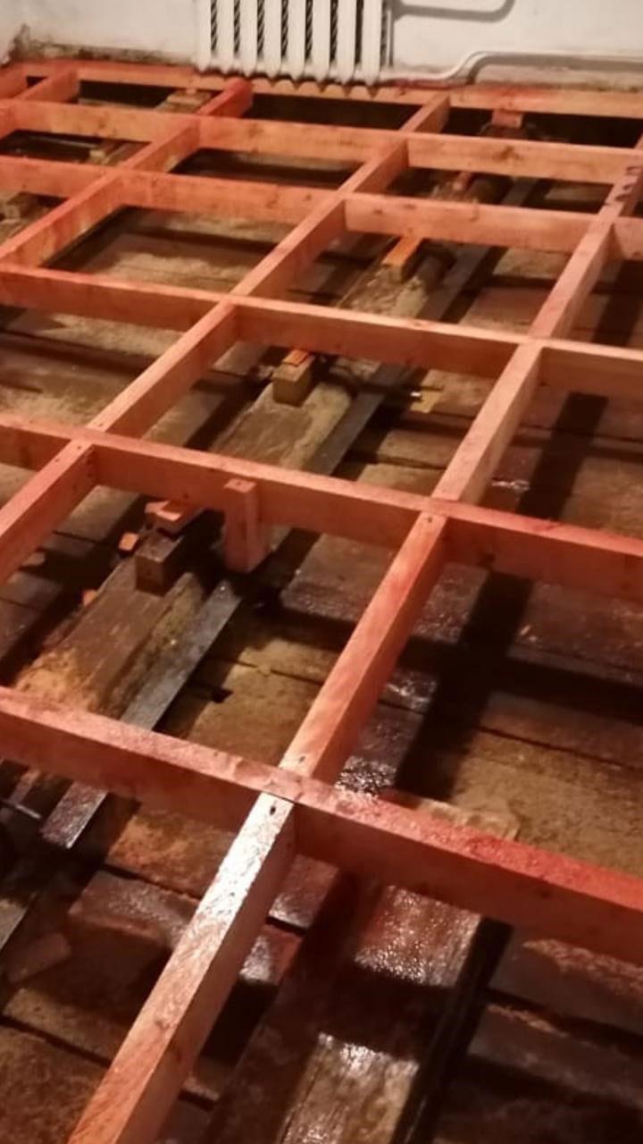 Пример заключения по обследованию деревянного перекрытия пола в жилом доме