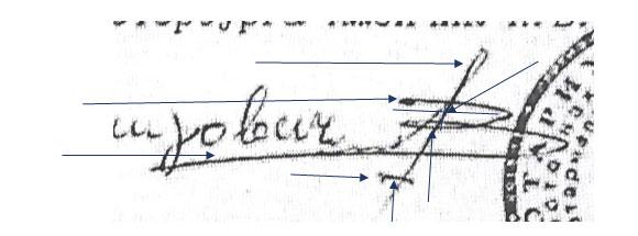 Образец заключения экспертизы подлинности подписи на договоре